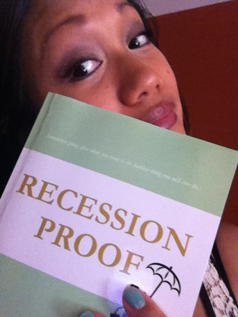 Recession Proof debut novel