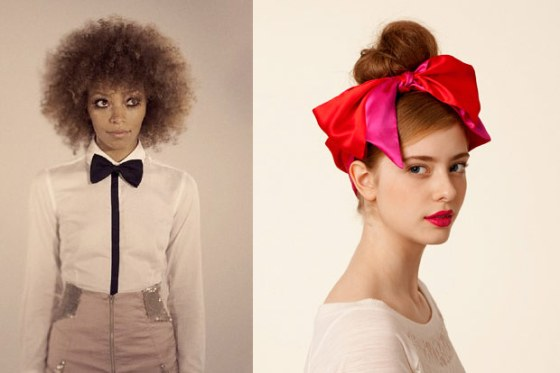 circus style how to, how to wear bows