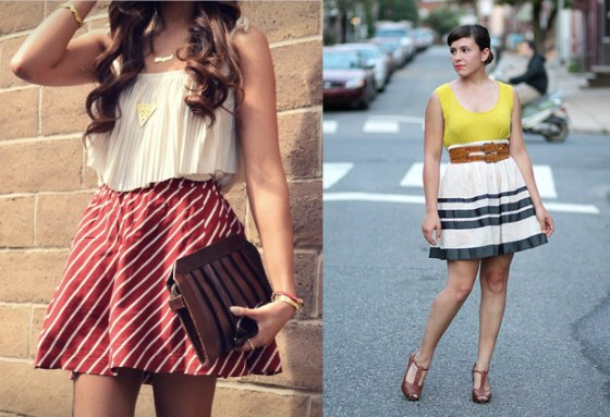 circus style how to, how to wear short skirts
