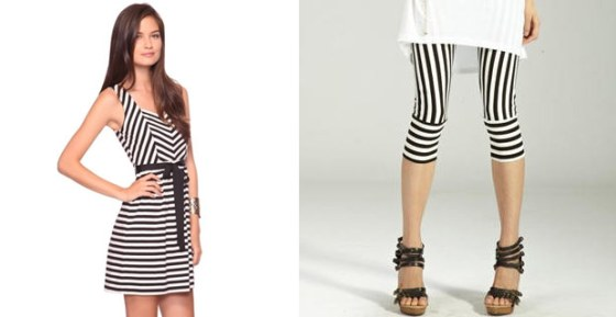 circus style how to, how to wear stripes