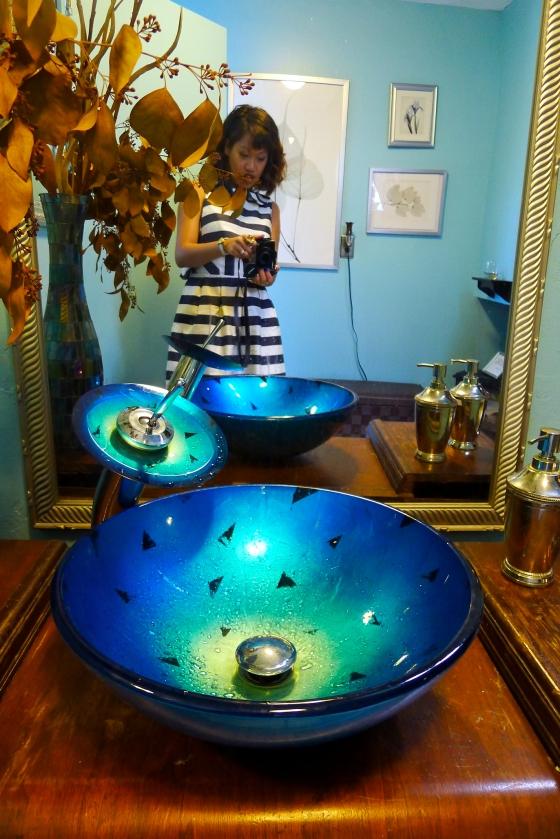 Antique custom sink