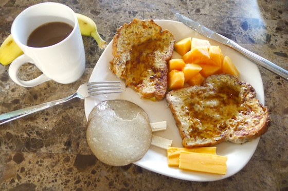 Breakfast, French Toast, Food Porn