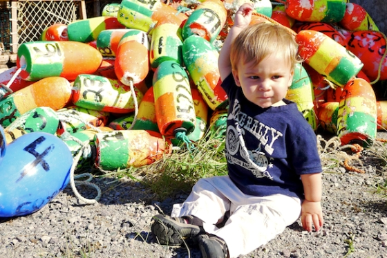 Cape Breton, Mabou, Mabou Harbor, Lobster Bouys
