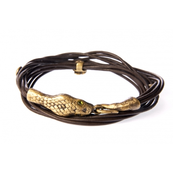 eco-friendly, gold snake bracelet, sustainable jewelry, environmental responsibility