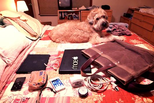 ... iPod Classic 80GB; Panasonic Lumix Leica LX5 camera (taking the photo) + ...