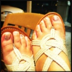 hawaiian style, hawaiian fashion, disco pedicure