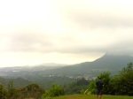 Pali Highway Scenic Lookout, Kailua view, Windward Oahu, Hawaii Living