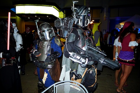 thereafterish, Aloha Tower Halloween Party, Boba Fett Costume, Darth Maul