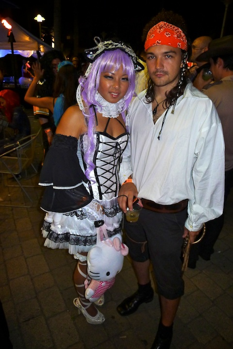 thereafterish, Aloha Tower Halloween Party, Lolita Doll, Pirate