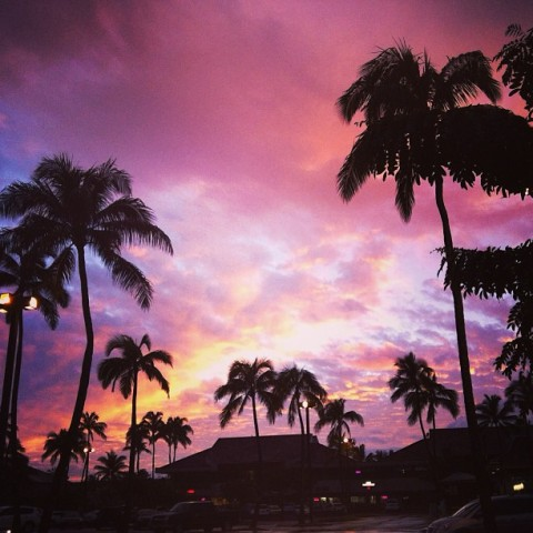 hawaii sunset, sunset in hawaii, thereafterish, hawaii living, living in hawaii, hawaii life, hawaii kai