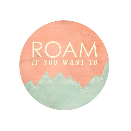 roam if you want to graphic, real girls facebook, road less traveled, thereafterish, how to be brave