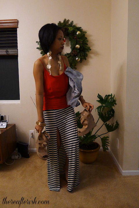thereafterish, OOTD, asian street style, mikinola, bamboo sky, how to wear red white and blue