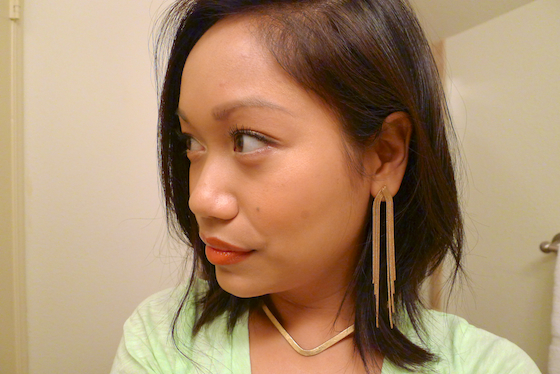 thereafterish, makeup look, easy makeup, simple makeup how to, coral color